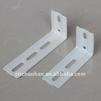 89mm Amp 100mm Metal Curtain Rod Wall Bracket For Vertical