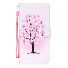 Painted Flip Case Wallet Leather Cover for Sony XP Colored Drawing flip case
