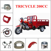 TRICYCLE motorcycle spare part Rear Brake Fuel Tank