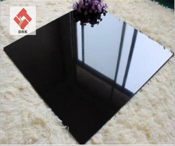 Pure Color White floor tile Black tile Polished porcelain