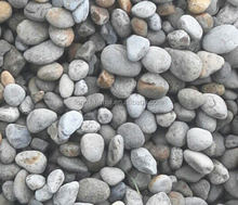 cheap price natural pebble stone used for garden decoration