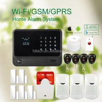 Wireless Alarm With Touch Keypad Panel