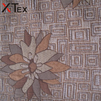 online floral jacquard yarn types chenille fabrics for sofa furniture upholstery from textile manufacturer