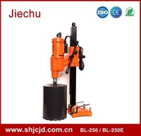 BENLI BL-250 core drill rod equipment with ceramic drill bits for the diamond drilling of concrete