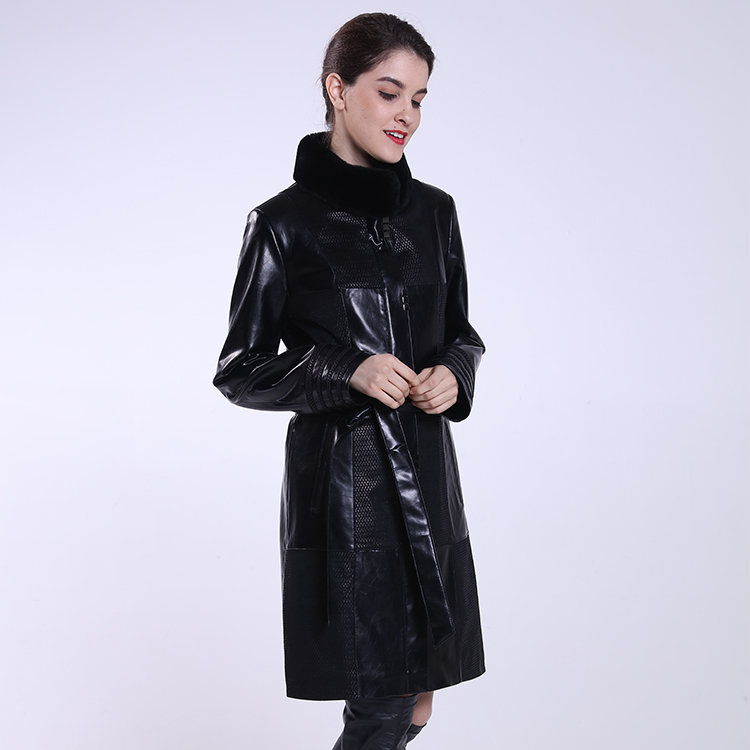 2016 winter women Faux leather jackets prices in pakistan