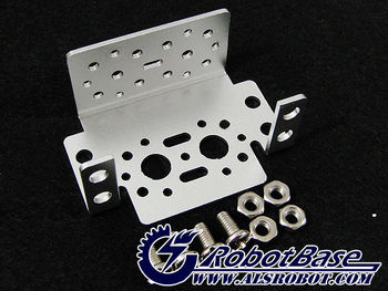 Aluminum Multi-Purpose Servo Bracket Kit Silver