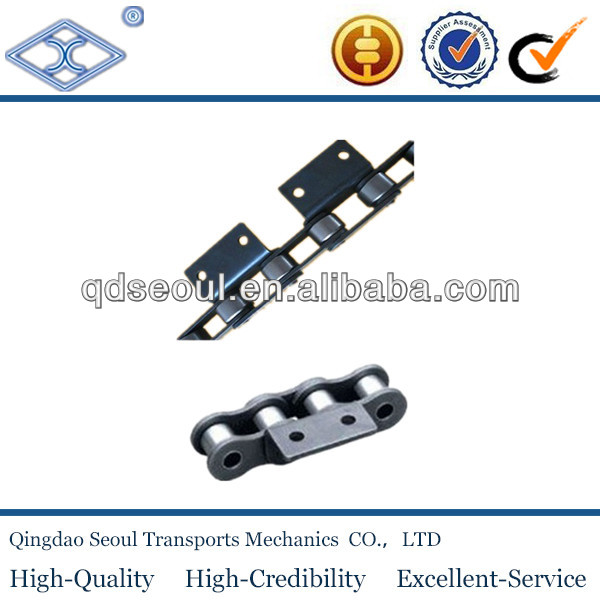 conveyor roller chain with pads