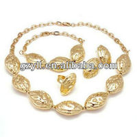 Good -looking jewelry set copper hot design