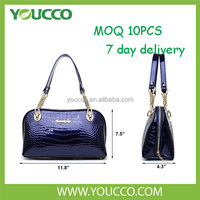 Young women second hand ladies japan blue elegance wholesale handbag
