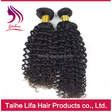 Top grade virgin human make straight hair wavy curl