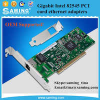 Gigabit Intel 82545 PCI card ethernet adapters/ 10/100/1000Mbps RJ45 PCI network card