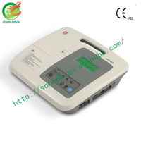 2015 Medical Portable Three Channel ECG with CE Approved