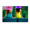 Colorful Summer Holidays Canvas Wall Art Fashion Sexy Girl Print on Canvas Framed and Stretched for Home Wall Decoration