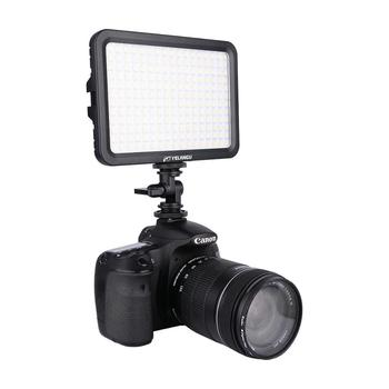 YELANGU LED Video Light 204 Beads Bi-Color 3300K-5600K,Portable Camera LED Lighting Photography for DSLR Camera