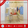 Foldable folding clothes drying rack