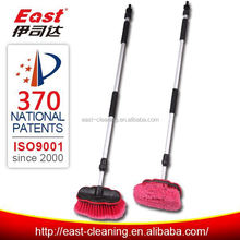 easy to hang alum handle telescopic cleaning brush