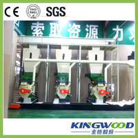 KINGWOOD Competitive Price 2-3t/h Pellet Production Line