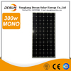 high efficient 300W monocrystalline solar panel TUV IEC CE certificate for home solar systems