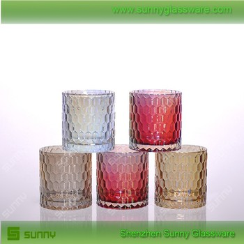 2017 High Quality Glass Candle Holder
