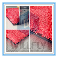 selling best cheap PVC coil and polyester dustproof waterproof anti-slip rug/carpet