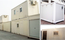 2016 20 foot luxury WPC prefabricated container housing renovation