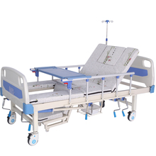 Multi-Functional Health Care Bed Manual Nursing Bed Hospital Bed For Sale