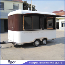 JX-FS400R Professional Customized Outdoor Food Mobile towable camping trailer