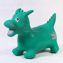 Inflatable Kids Jumping Animal Dragon Toy,Custoized Promotion Jump Animal,Eco-friendly PVC Jumping Animal Hopper