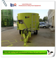 Leo brand high efficiency feed mixer wagon