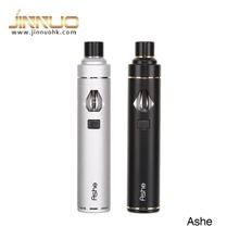 High-end product ASHE wuth 1100mah aio pcc case 5 colors LED light with safety device