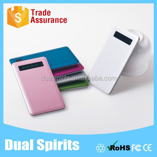 2015 mobile power bank,external portable power bank,usb power bank with LCD