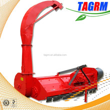 Factory price crops leaf shredding machine sugarcane leaf shredder and collector for sale