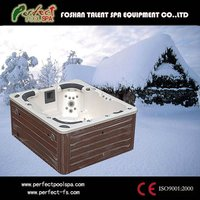 Good price massage center hot tub/outdoor spa/jetted whirlpool