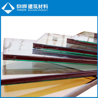4-19mm Top Quality Clear/Tinted/Coating Tempered Glass
