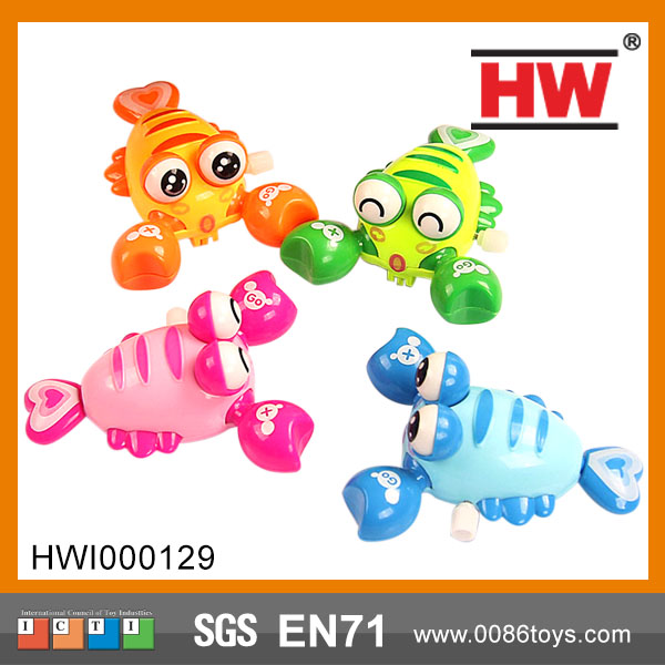 wind up animal plastic toy lobster