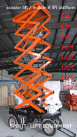 2016 Hot Sale CE certified 300kg 500kg Mobile Stationary Electric 5 ton Lifting Height Hydraulic Scissor Lift