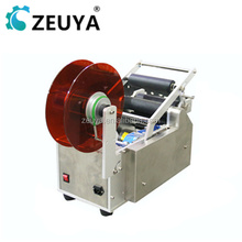 ZEUYA Manual wine bottle sticker labeling machine with date printer LT-50 Trade Assurance