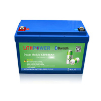 rechargeable 12v 200ah smart Bluetooth APP control lithium ion lifepo4 battery for camping car/boat/yacht
