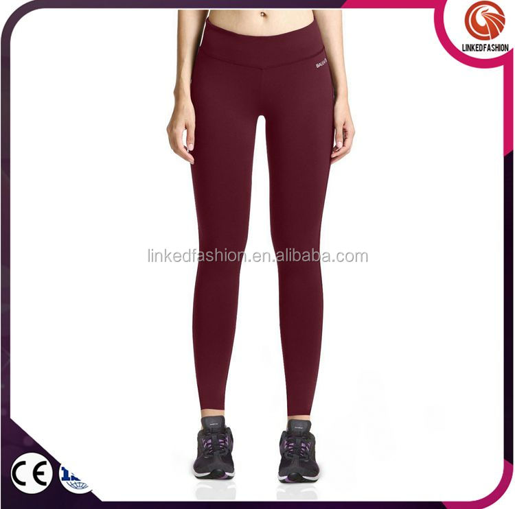 Ladies fitness blank color yoga leggings yoga shorts athletic wear
