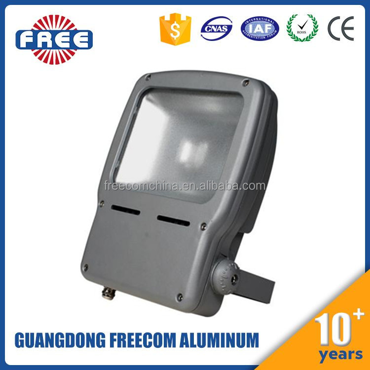 traditional aluminum led flood light housing 30w, flood light case for outdoor football field tennis court
