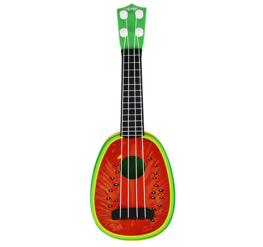 Musical Toy Electronic Guitar Educational Toy Kid Gift Early Education Micro 4 strings Guitar