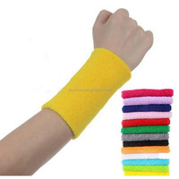 Yoga wristband New Design Stylish cotton Spandex Wristband Sweat Band