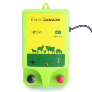 high voltage portable best electric fence charger for horses agricultural