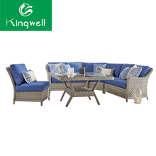 Royal sofa sets china factory supply outdoor furniture garden rattan patio furniture