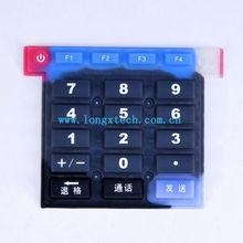 Waterproof Silicone Numeric Keypad for Calculator