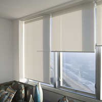 Hotsale office home simply style dual layer roller blinds