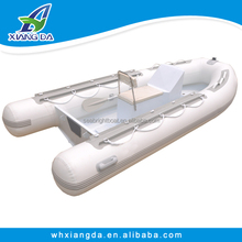 2015 CE Certificate 4.3m PVC Material Rigid Inflatable Boats with Center Console