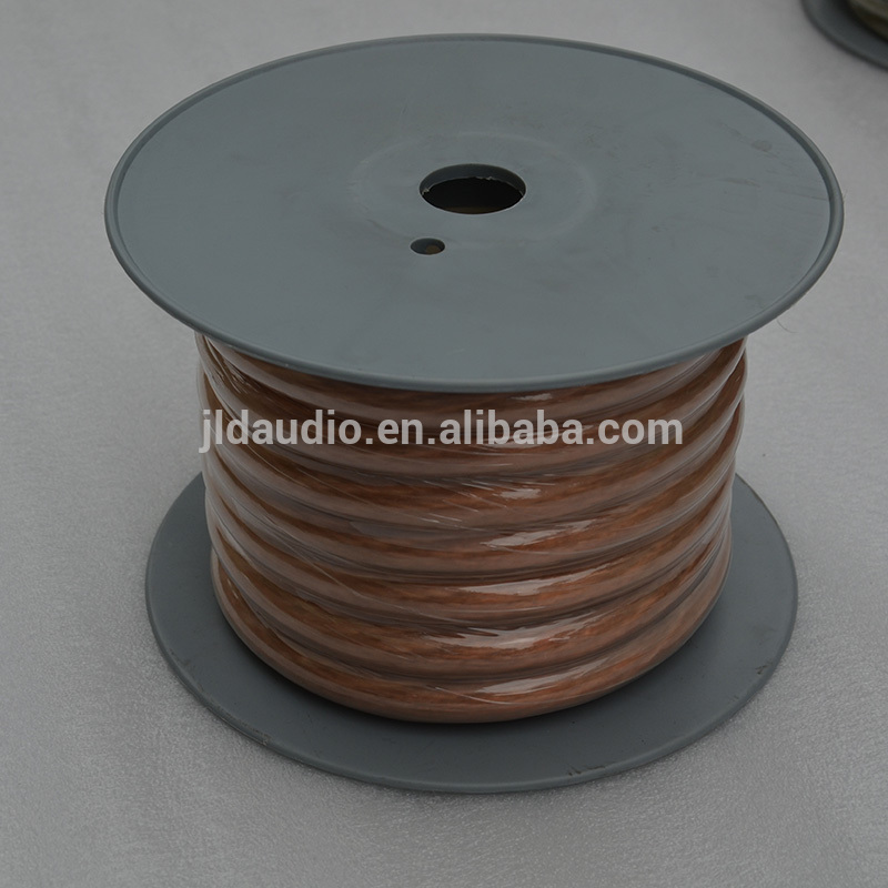 Factory sale PVC speaker power cable 1/0 AWG copper wire