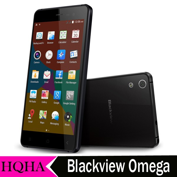 Blackview Omega MT6592W Octa Core Android 4.4 16GB ROM 2GB RAM WCDMA Telefonos