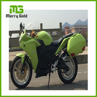 EEC approved lithium battery high power 6000W adult fast electric sport motorcycle